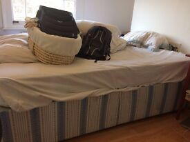 Double Bed + Mattress, Great Conditions