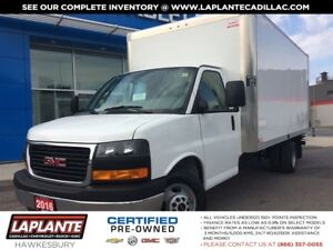 2016 GMC Savana 16 Ft Cube w/ramp