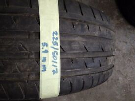 Tyres 225 50 17 94v Continental 5.9mm