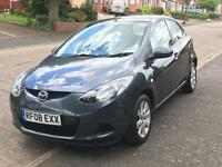 2008 08 Mazda 2 1.4 D TS2 £30 ROAD TAX DIESEL 12 MONTHS MOT LOW MILES ONLY 78K