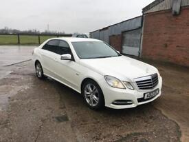 2012 Mercedes e220cdi low Milage, 1 previous owner white