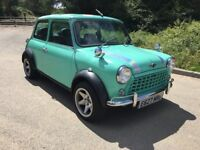 1987 CLASSIC AUSTIN MINI MAYFAIR NEW MOT 53,000 MILES £4495 O-N-O