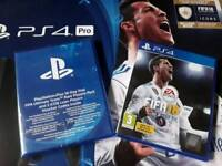 FIFA 18 for PS4 + FIFA Ultimate Team Rare Players Pack, sealed.