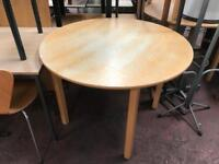 1200mm Round Canteen Table