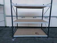 LINK 51 LONGSPAN STORAGE SHELVING SYSTEM RACKING BAY (Brentwood Branch)