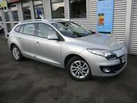 RENAULT MEGANE 1.5 DYNAMIQUE TOMTOM ENERGY DCI S/S 5d 110 BHP **FREE ROAD TAX** (silver) 2013