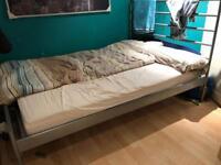 4ft6 mattress and metal frame