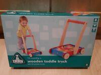 Unused ELC Wooden Toddle Truck