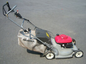 VARIOUS mowers all gwo, prices as in details, honda hrb536c, sovereign