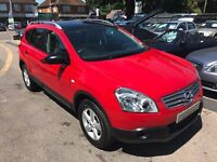 2010/59 NISSAN QASHQAI+2 1.6 VISIA 5 DOOR,7 SEATER,PETROL,SERVICE HISTORY,STUNNING INSIDE AND OUT