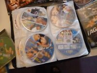 140 bollywood indian films on dvd,few songs vcds & few hollywoofilms,beautiful collection of films..