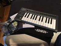 Edirol pcr-m1 midi keyboard