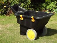 Gardeners twin wheeled Barrow (By Zag) in good condition