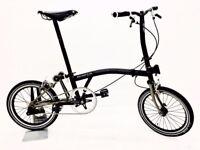 Brompton Bicycle Titanium (Single Speed Custom)