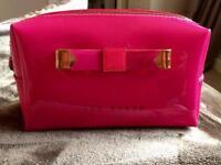 Ted baker make up bag pink