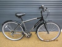 "APOLLO HIGHWAY LIGHTWEIGHT ALUMINIUM ROAD BIKE IN ALMOST NEW CONDITION.. 18"" / 46cm. UNMARKED FRAME"