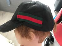 Black Gucci cap