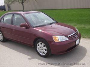 2002 Honda Civic, winters installed, starter