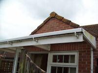 Canopy for over windows or patio doors