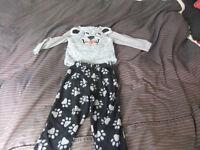 18-24 Month 3 x Fleece Pyjamas 50p A SET
