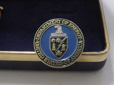 presidential department of ENERGY CUFFLINKS -DOE NEW