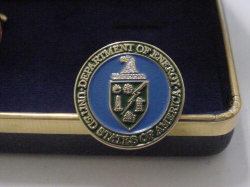 presidential department of ENERGY CUFFLINKS -DOE NEW