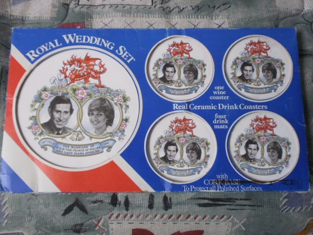 Royal Wedding coaster sets