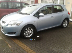 Toyota AURIS 1.4 D4D DIESEL 2007 FULL SERVICE HISTORY 2 OWNERS EXCELLENT DRIVE GOOD CONDITION 2 KEYS