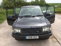 Range Rover P38, The best you will see or drive. 90,000 miles April 2018 MotAll leather 15 Stamps.