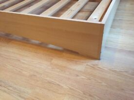 Double bed size frame.