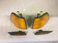 BMW E36 saloon front indicator lenses