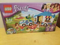 Sealed unopened retired lego friends 41034 and 41006