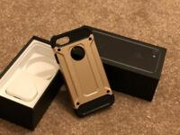 iPhone 7 box and case