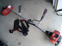 Solo 109 lightweight petrol strimmer/ brush cutter with harness.