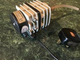 Compressor aquarist air brush