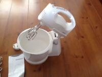 New Kenwood HM400 stand cake food mixer