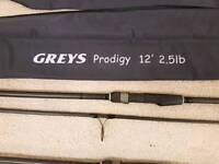 Greys prodigy carp rods
