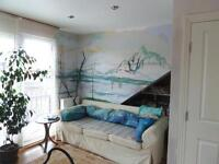 One bedroom self-contained flat in Victorian house to share, Chiswick, W4