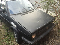vw golf mk2 breaking car for parts or sell as a whole car