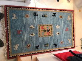Indian wool rug (Kayan)