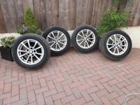"BMW 16"" Alloy wheels and tyres"