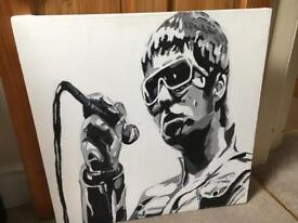 Liam Gallagher canvas art
