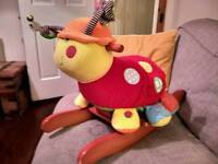 Lottie the Ladybird rocker from Mamas and Papas