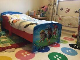 Paw Patrol bed- suitable for ages 2-7 years