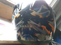 2 motobike helmets