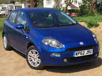2012 Fiat Punto 1.2 8v Easy (Brio Pack) 5dr --- Manual --- Part Exchange Welcome --- Drives Good
