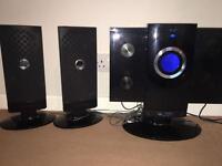 4 CD High-Fidelity Speaker System