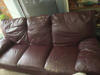 FREE lether sofa