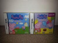 2 x Peppa Pig Games