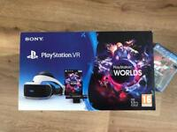 PlayStation VR Worlds Bundle with Gran Turismo Sport